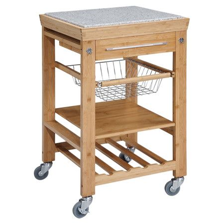 Found it at Wayfair - Caye Granite Top Kitchen Cart in Naturalhttp://www.wayfair.com/daily-sales/p/Kitchen-Storage-%26-Organization-Caye-Granite-Top-Kitchen-Cart-in-Natural~JIY1574~E13357.html?refid=SBP.rBAjD1OYcVwa8RPYiIdAAqykGQfSlUXnhK1zc8Y4t_k