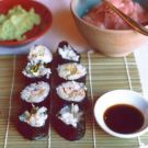 Our Favorite Homemade Sushi Maki Rolls Recipe on Williams-Sonoma.com (Crab, Smoked Salmon, Cucumber, Avocado, adapt to brown rice sushi?)