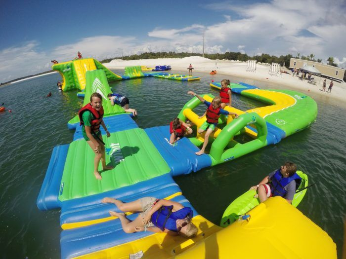 Lift Adventure Park is located in SunWest Park, at 17362 Old Dixie Highway in Hudson. This incredible inflatable obstacle course is the largest of its kind in Florida, and it will make your summer complete.