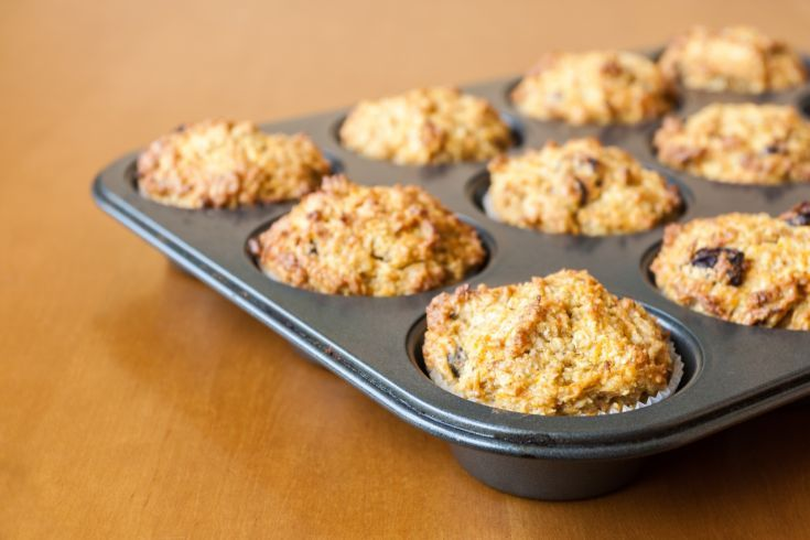 Pohánkové muffiny
