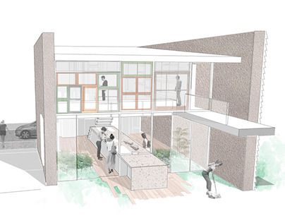 """Check out new work on my @Behance portfolio: """"Sustainable house Group project"""" http://on.be.net/1LJdwAZ"""