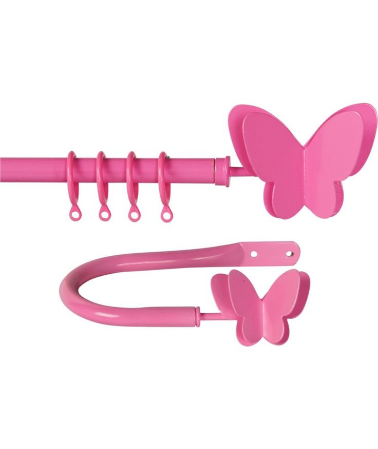 Buy Heart of House Butterfly Extendable Curtain Pole Set - Pink at Argos.co.uk - Your Online Shop for Curtain poles and tracks.
