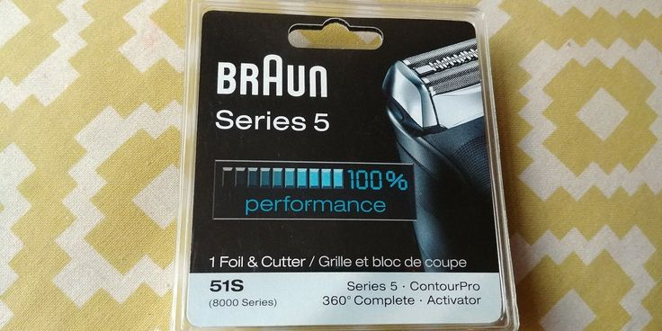 Shaver Parts and Accessories: Braun Series Shave Hair Removal 5 51S Replacement Parts Foil Head Shaver -> BUY IT NOW ONLY: $33.99 on eBay!