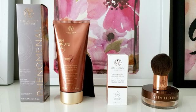 Maintaining your tan all year with Vita Liberata*
