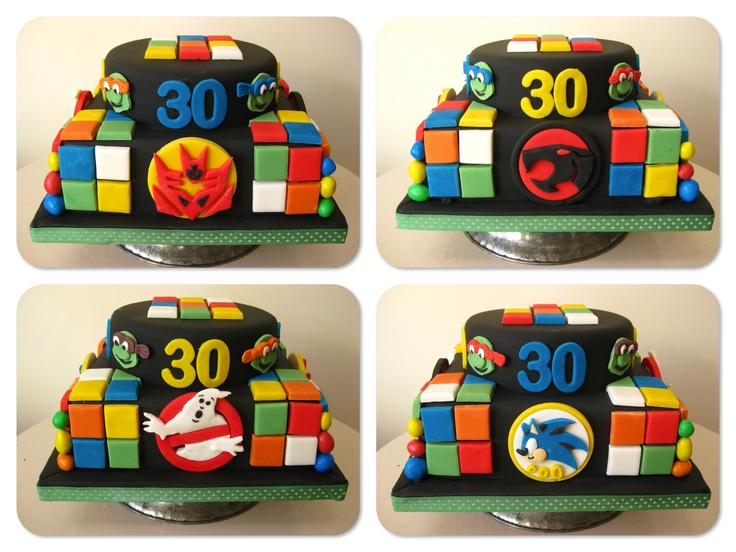 A cornucopia of 80s memories: Theme Party, Milestone Theme, Cake Ideas, Large Celebration, Birthday Cake, 80S Memories, Celebration Well, 30Th Birthday