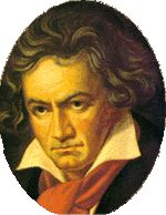 Ludwig van Beethoven -English Romanticism  MUSIC-Major Works    1801: The Creatures of Prometheus, staged in Vienna in 1801   1805, 1814: Fidelio, only opera Beethoven wrote   Wrote incidental music for Goethe's Egmont   Completed 9 symphonies   Visit the Classical Musician's Dictionary site on Beethoven to hear midi files of some of his work   Biographical Info  Born: 1770  Died: 1827        Austrian Composer   Student of Haydn   Beethoven was deaf through most of his career
