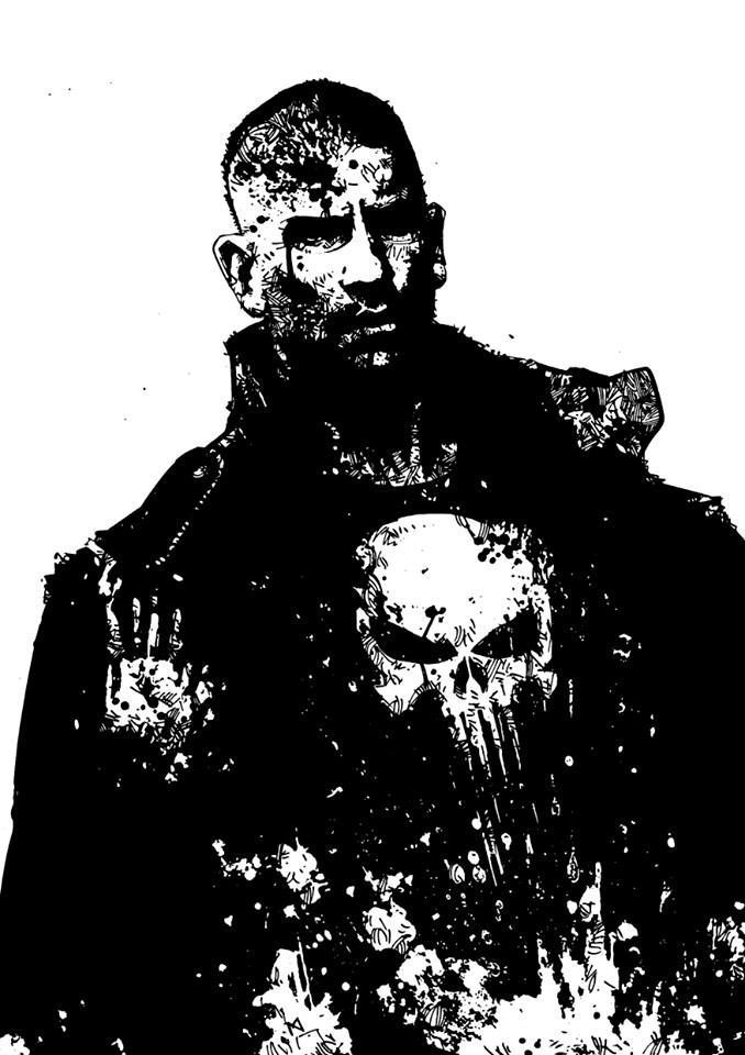 spyrale:     Jon Bernthals definitive Punisher by Neil McClements
