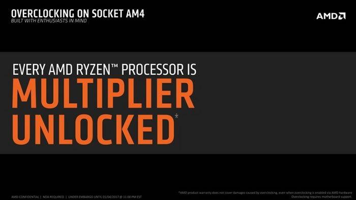 Множитель всех процессоров AMD Ryzen будет разблокирован    Отношение Intel к разгону известно, и оно очень двойственно: с одной стороны, компания выпускает особые модели микропроцессоров с суффиксом К в заглавии и особые же версии чипсетов, поддерживающие тончайшие опции разных частот и множителей, но с другой — любая другая композиция находится под внегласным запретом. Производителям системных плат недвусмысленно намекают на то, что использование не утверждённых Intel чипсетов в качестве…