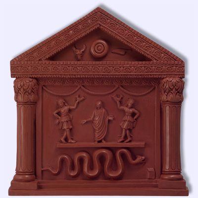 Penates Lares Greek Roman Household Gods plaque-Sacred Source