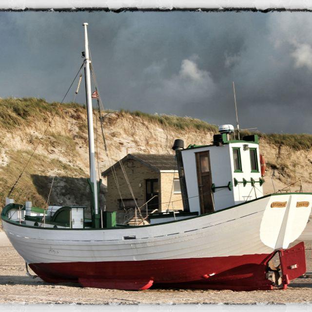 Fischerboot in Dänemark