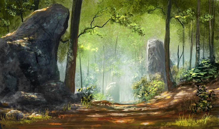 Magestic Woods by jjpeabody.deviantart.com on @deviantART