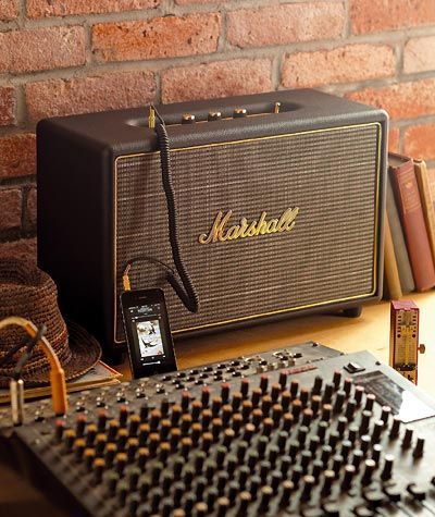 Marshall Hanwell Speaker A Pretty Cool Way To Retro Out