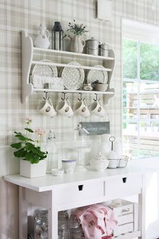 Kitchen decor  #PalmoliveSoftTouch No need to have a bulky kitchen dresser, this is idea is space saving and useful.