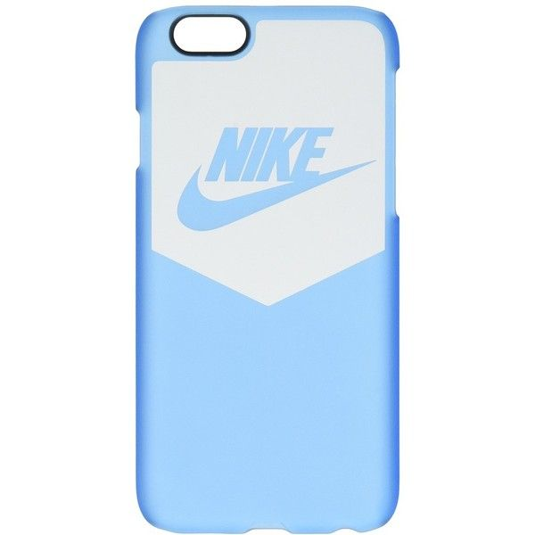 Nike Heritage Cell Phone Case (White/University Blue) Cell Phone Case ($30) ❤ liked on Polyvore featuring accessories, tech accessories, electronics, nike, phone, phone cases, blue headphones, white headphones, apple iphone headphones and iphone headphones