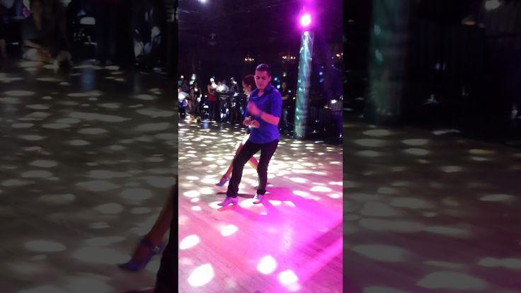 Jorjet Alcocer & Oscar Martinez performing Dominican bachata dancing