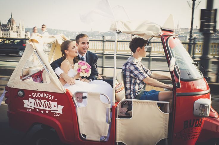 TukTuk wedding! :) Congratulations!