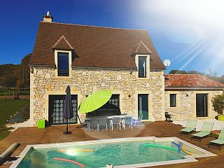 Maison Périgourdine Grand Confort / Piscine privée chauffée 28°C / 10km Sarlat