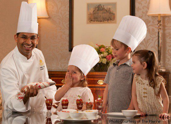 Try a stay at one of these family friendly resorts that offer cooking classes for kids