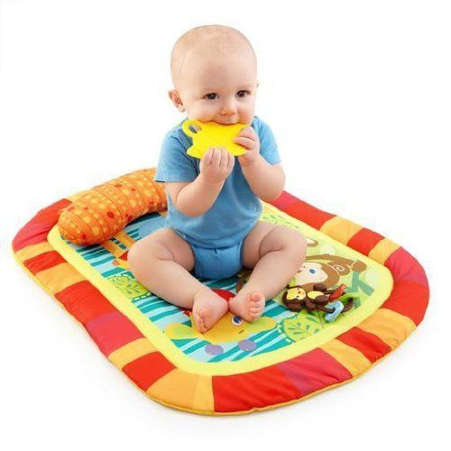 Bright Starts Baby Activity Prop Play Mat Tummy And Cruiser Pretty Time