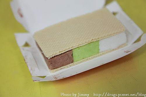 三色雪糕磚