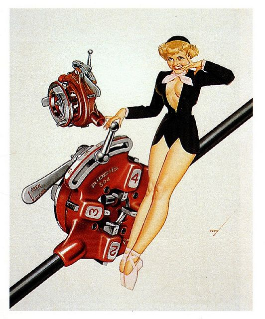 George Petty Pin Up Girls: 36 Best Ridgid Pin-Up Girls Images On Pinterest