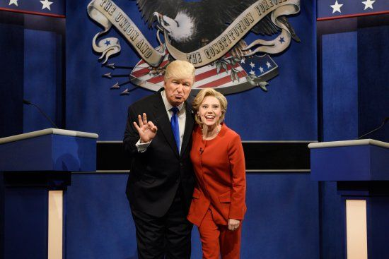 Watch Alec Baldwin as Donald Trump on SNL's Presidential Debate