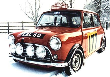 Historic Rally & Classic Race Cars: Mini Cooper S - DNA=Rally