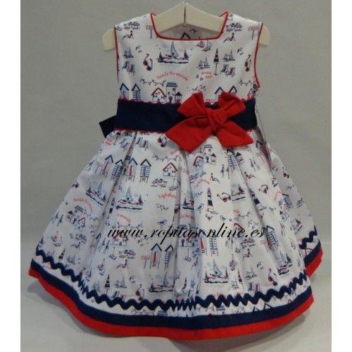 vestidomarinero niña | Vestido marinero