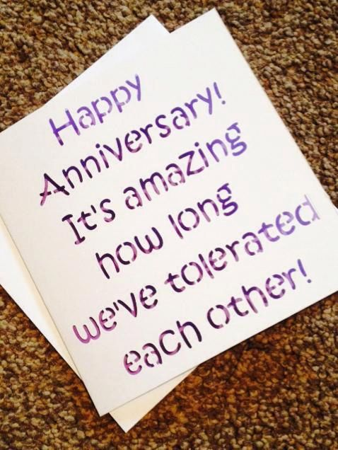 Funny anniversary card-papercut card-anniversary card-card for wife-card for husband-card for anniversary-card for boyfriend- by TheCoverGirlmummy on Etsy