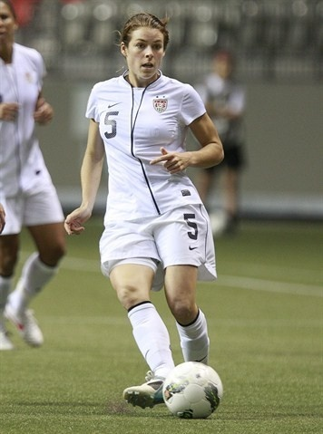 Kelley O'Hara is a member of the women's U.S. Olympic soccer team. She is from Fayetteville, Georgia.