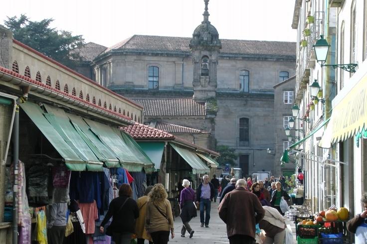Abastos Market in Santiago - Galician Cooking Food and Wine Tour in Santiago de Compostela, Spain