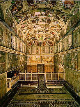 Capilla Sixtina ,Construcción1473-1481 Estilo Renacentista Arquitecto(s) Baccio Pontelli Giovanni de Dolci