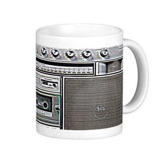 GHETTO BLASTER MUG #mug #zazzle