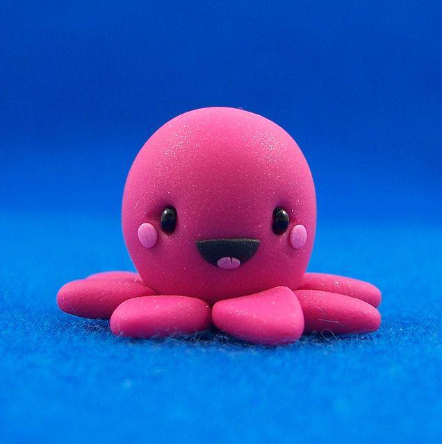 Inky the Kawaii Octopus by Jenn and Tony Bot, via Flickr