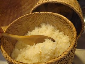 Playing with Food: Lao Food: Sticky Rice