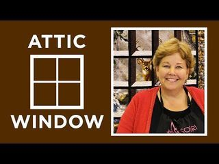 Attic Windows Quilt with a Panel: Easy Quilting Tutorial with Jenny Doan of Missouri Star Quilt Co | Missouri Star Quilt Company - YouTube | Bloglovin'
