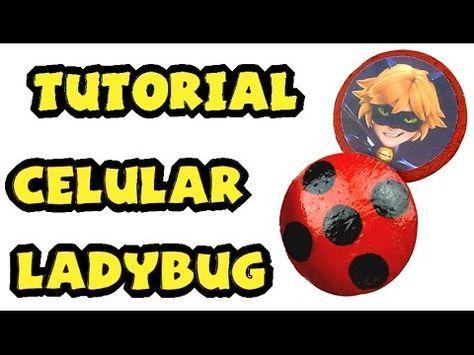 Cómo hacer el celular/intercomunicador de Ladybug - Tutorial Miraculous Ladybug - YouTube