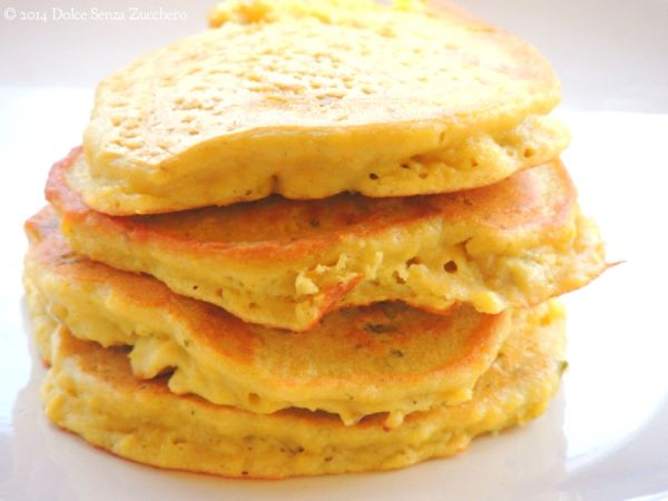 Frittelle di Cicerchie 3 Pancakes Senza Farina e Senza Glutine (con Purè di Cicerchie)