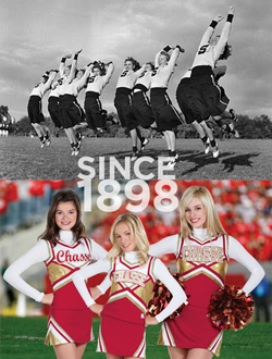 history of cheerleading History of cheerleading kimberly gregory loading unsubscribe from kimberly gregory  history lesson - cheerleaders extras - duration: 4:01 awesomenesstv 153,074 views.