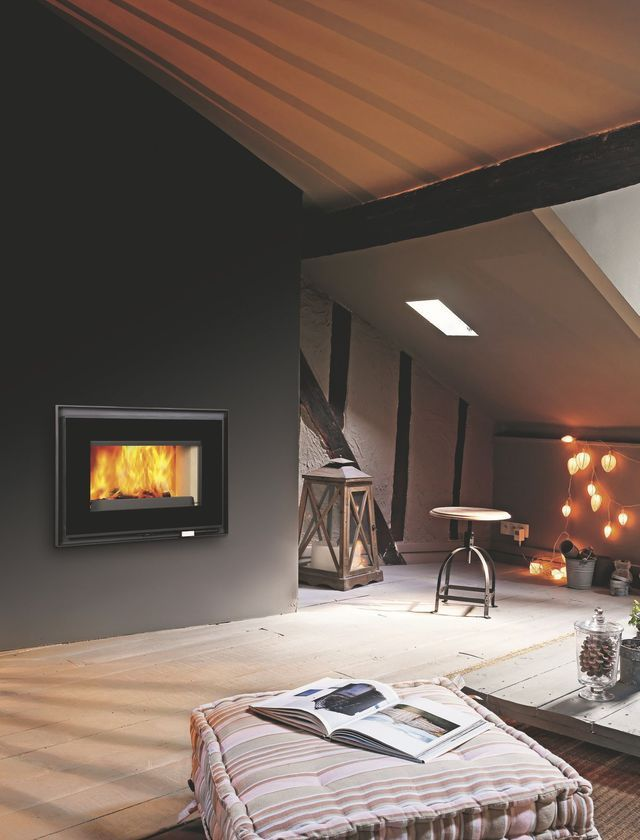 52 best chauffage design images on Pinterest Wood burning stoves