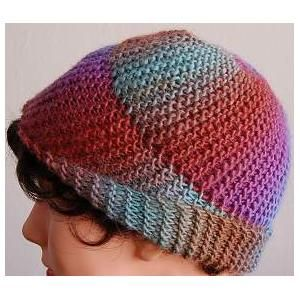 Ladies' Swirl Hat Knitting Pattern in MOCHI PLUS by Crystal Palace Yarns - FREE Knitting Pattern