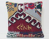 20x20 kilim pillow 20x20 oriental pillow rich colors big decorative pillow tapestry rug large floor pillow large floor cushion bright 20974