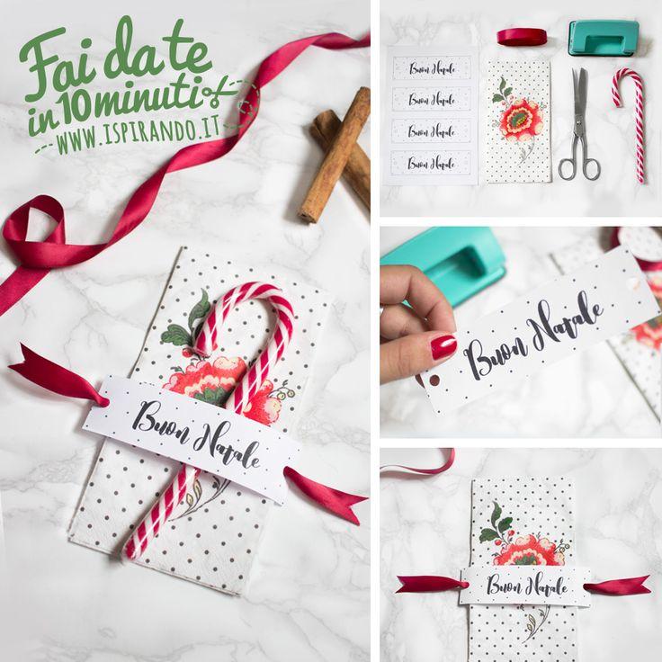 Come fare veloci segnaposti natalizi fai da te per aggiungere un tocco personale alla tavola e renderla più bella in occasione della festa di Natale.