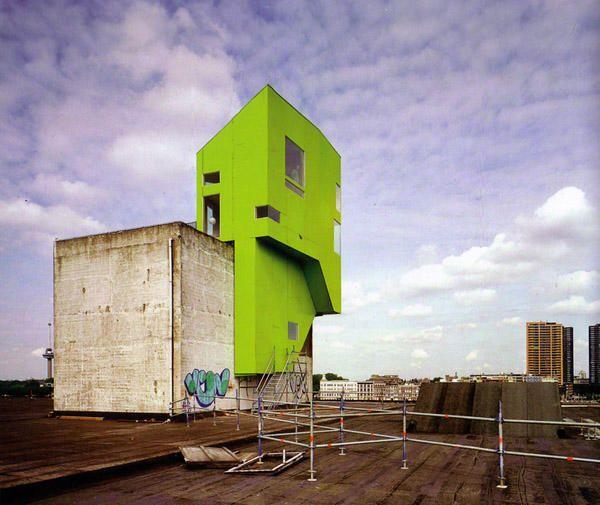 Greenhouse Apartments: 14 Best Parasitaire Architectuur Images On Pinterest