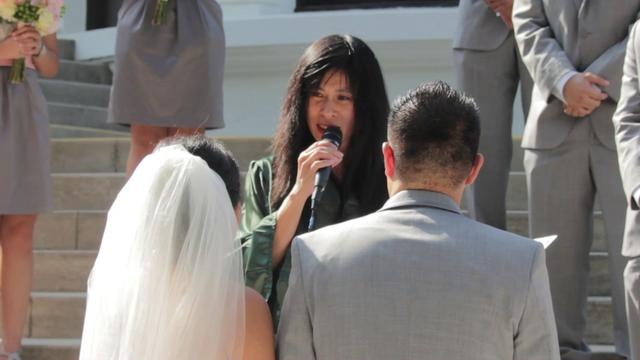 Wedding Officiant Speech Ideas: Sophia Chan - Officiant Speech