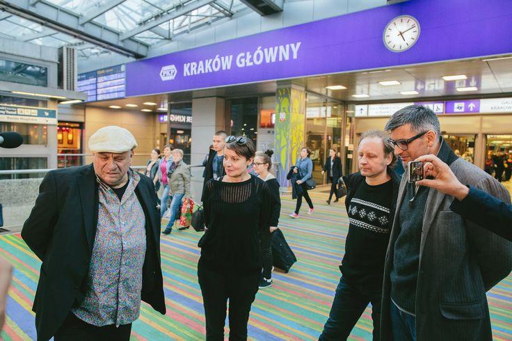 """ArtBoom Festival 2015  Instalacja malarska """"Waliły – Kraków - Waliły""""; Leon Tarasewicz, Kuratorka: Małgorzata Gołębiewska Fot. Michał Ramus, www.michalramus.com"""