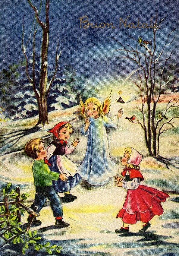Miss Jane: Christmas Cards 1955