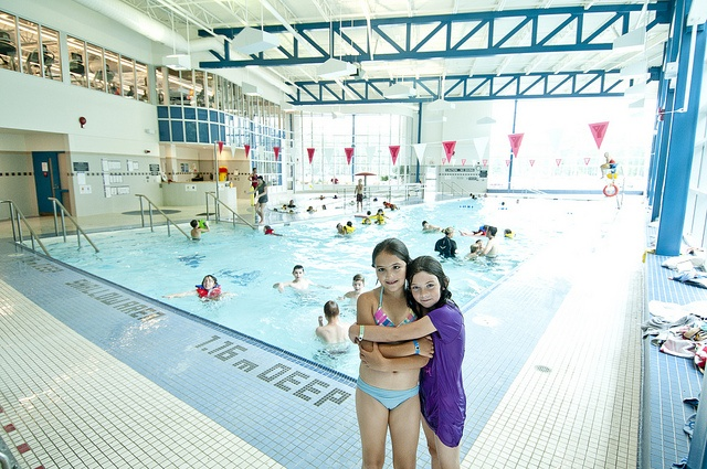 The Wasaga Beach YMCA holds public swim times for kids and families.