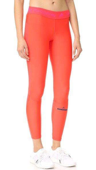 adidas by Stella McCartney Длинные леггинсы для бега Clima