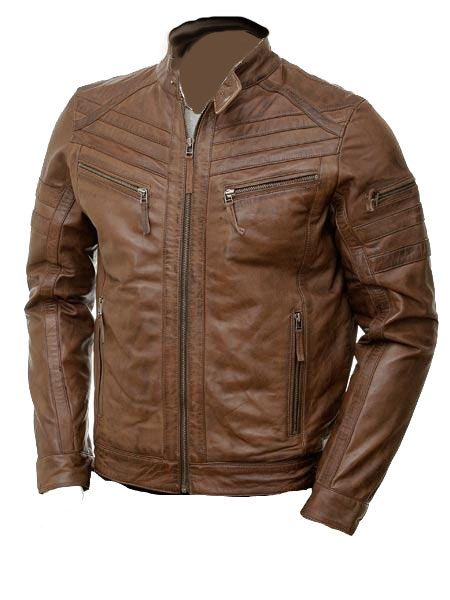 NEW Handmade with incredibly soft sheep leather (Choose from 30 different colors) Stylish Moto racer jacket with snap collars. On SALE for $137 usd on Etsy.